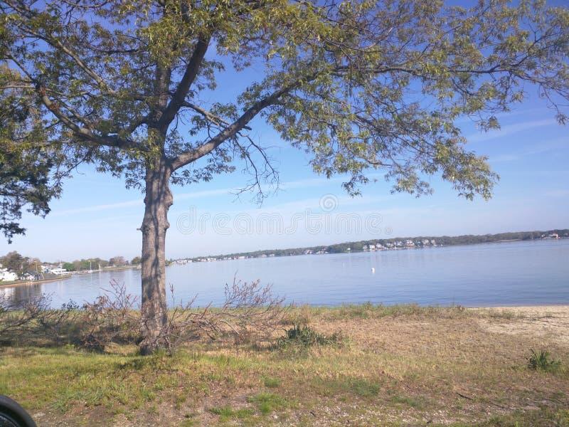 Eine hübsche Fluss-Ansicht 2 stockfoto