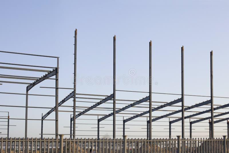 Eine industrielle konstruktive Site stockfotos