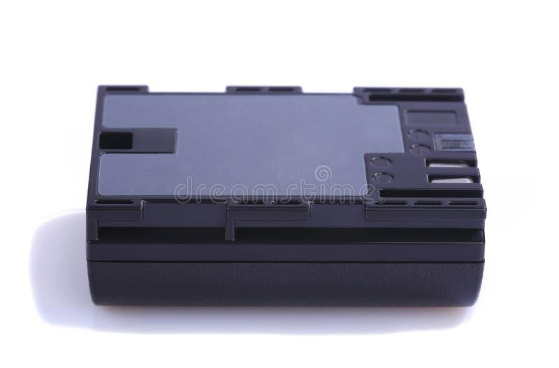 Eine Kamerabatterie lizenzfreie stockbilder