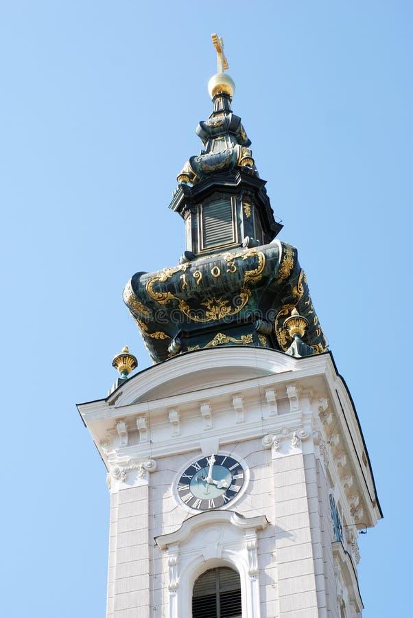 Eine Kathedralenkirche des großen Märtyrers St George lizenzfreies stockfoto