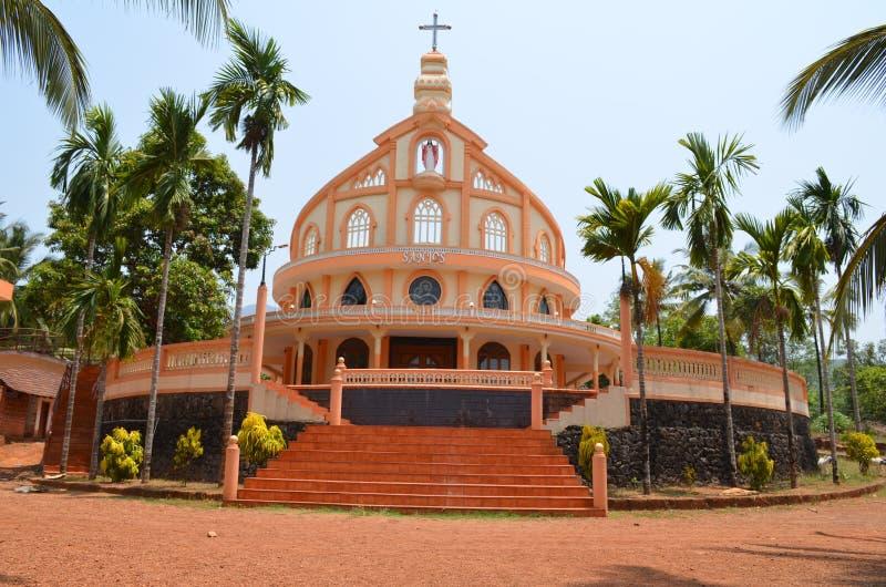 Eine Kirche. stockbilder