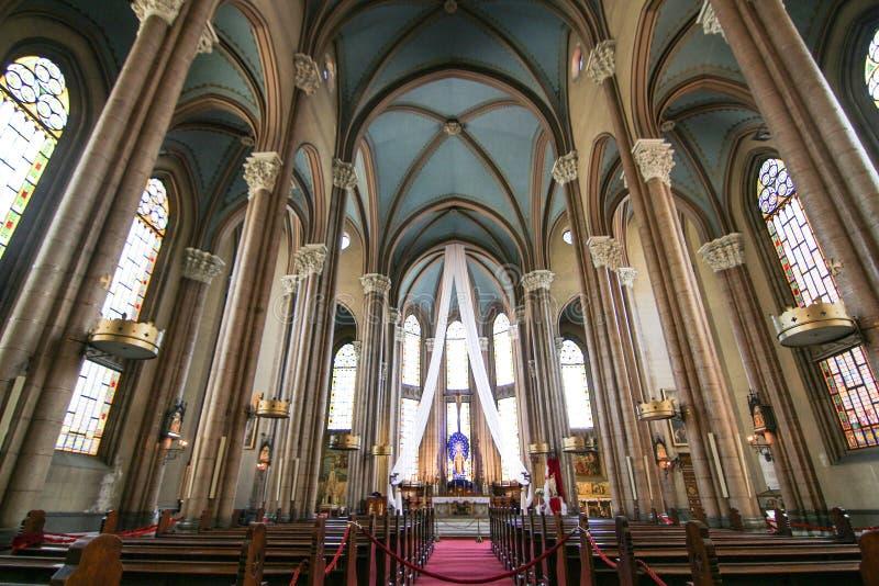 Eine Kirche im taksim stockfoto