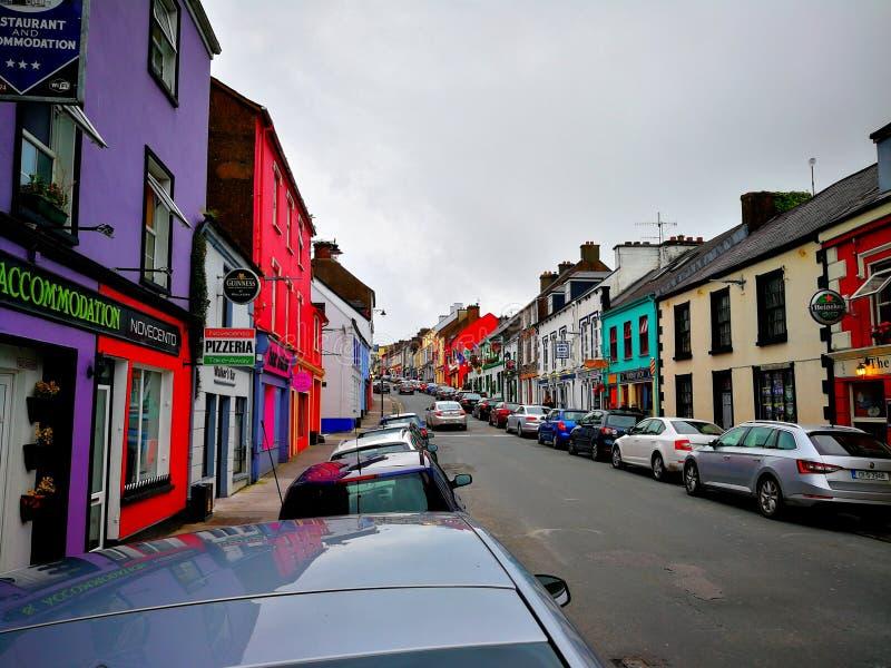 Eine klassische irische Stadt stockbilder