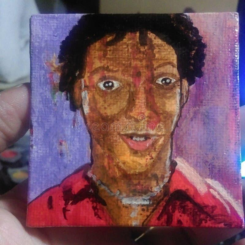 Download Eine kleine Malerei stockfoto. Bild von klein, acrylsauer - 96934222