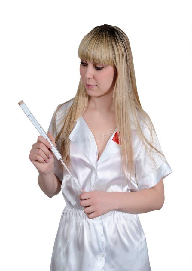 Eine Krankenschwester Mit Einem Problem
