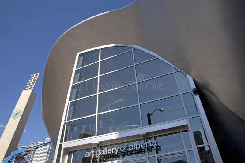 Eine Kunstgalerie, Alberta, Kanada lizenzfreie stockfotos