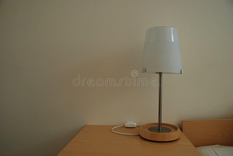 Eine Lampe lizenzfreies stockfoto
