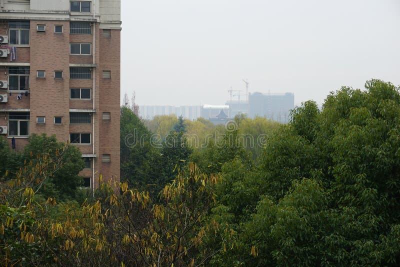 Eine Landschaft von Zhejiang-Universität lizenzfreies stockfoto