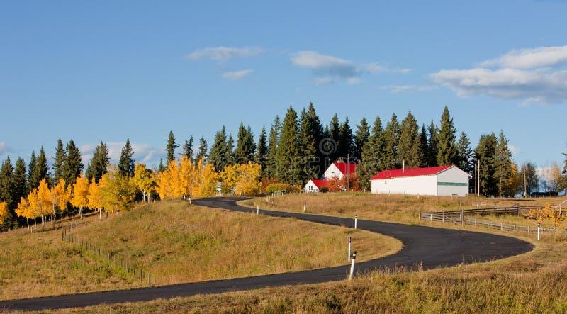 Eine Landschaftansicht lizenzfreie stockfotos