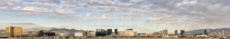 Eine Las Vegas-Streifen-Ansicht von McCarran stockfotografie