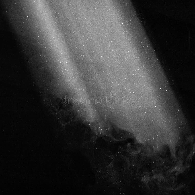 Eine Leuchte in der Dunkelheit lizenzfreie abbildung