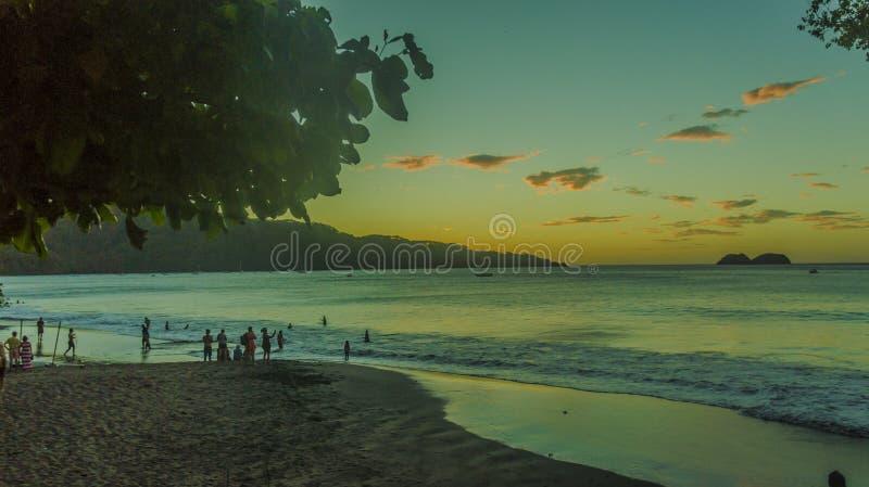 Eine Malerei des Meeres stockfotos