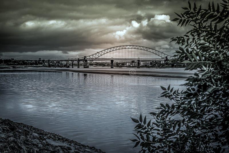 Eine Mersey-Ansicht lizenzfreies stockbild