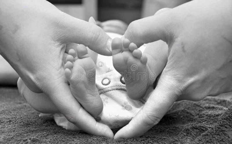 Eine Mutter-Liebe lizenzfreies stockbild