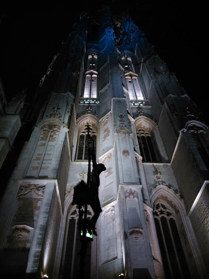 Eine mysteriöse Kirche stockfotografie