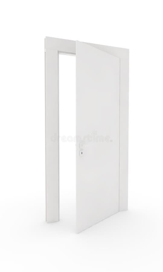 Eine offene Tür vektor abbildung