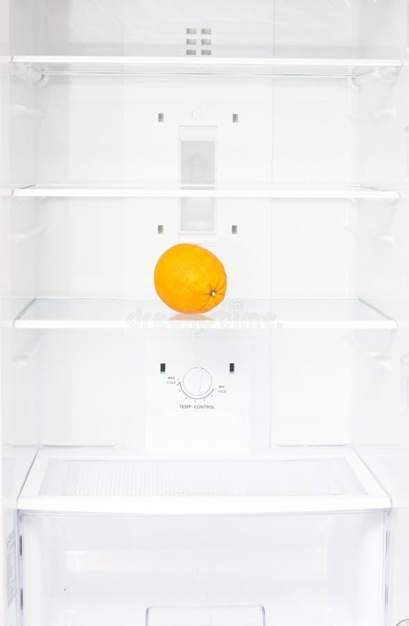 Eine Orange stockfotografie