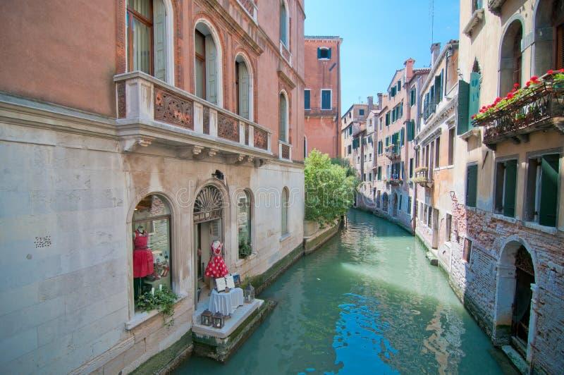 Eine Postkarte von Venedig lizenzfreie stockfotos