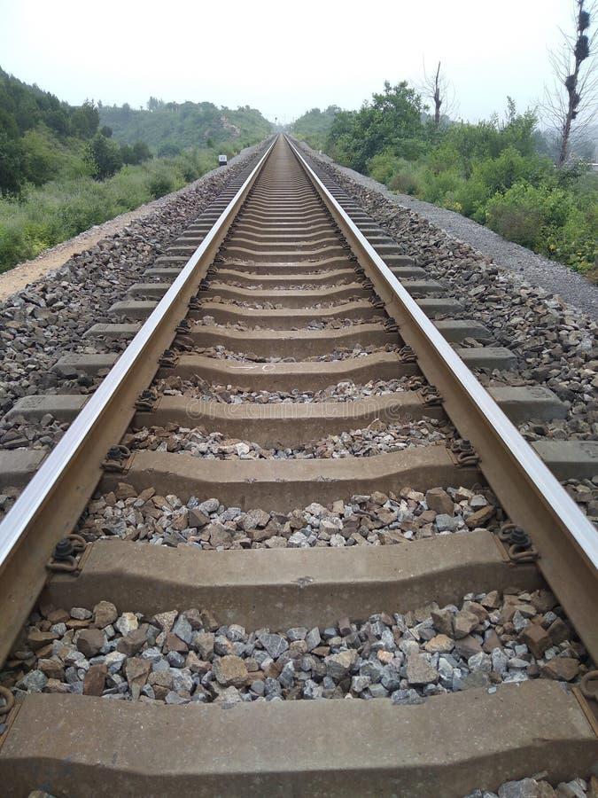 eine rallway Bahn stockfoto