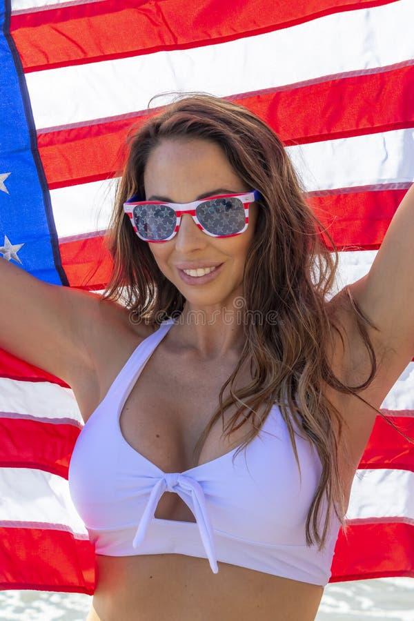 patriotische frauen american nude
