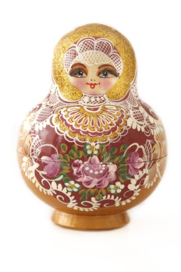 Eine russische Puppe lizenzfreie stockfotos