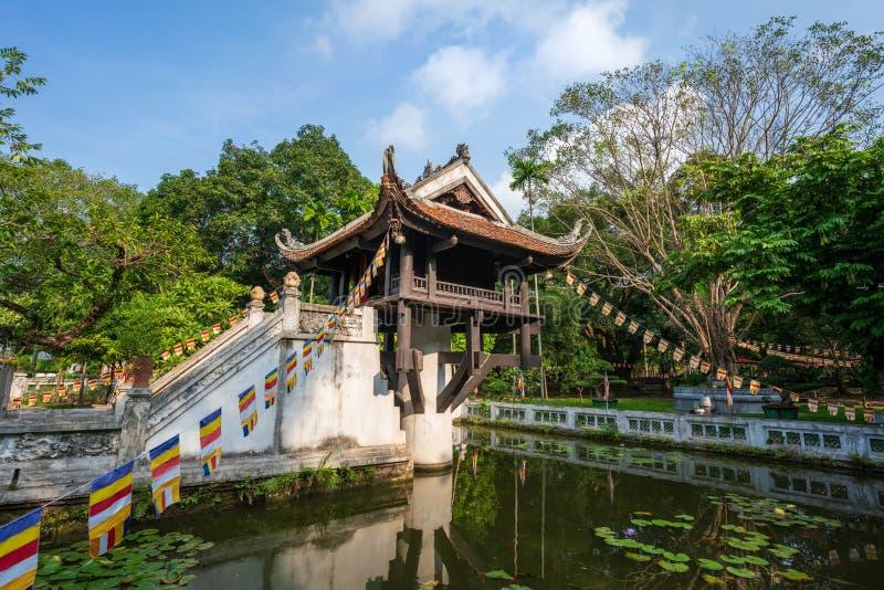 Eine Säule, die häufig als Symbol für Hanoi verwendet wird, befindet sich in Hanoi, Vietnam lizenzfreie stockbilder