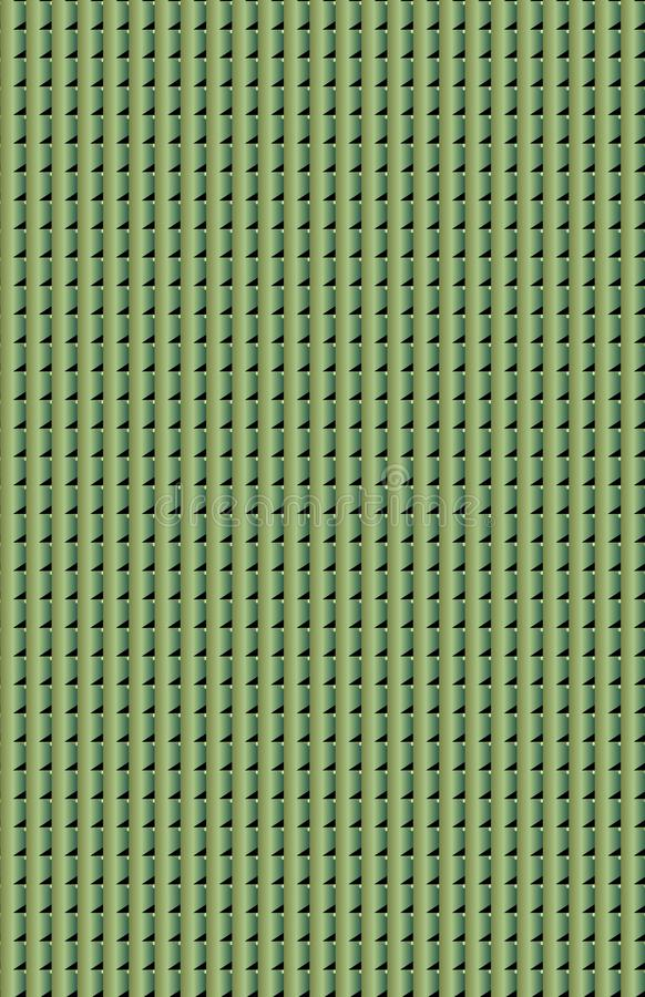 Eine saubere grüne dimensionaloberfläche lizenzfreie stockfotografie