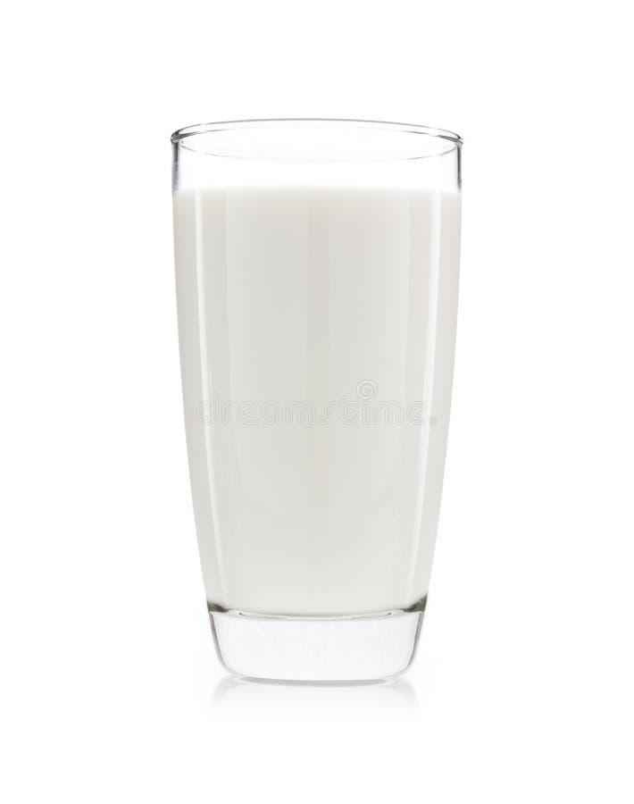 eine Schale Milch lokalisiert stockbilder