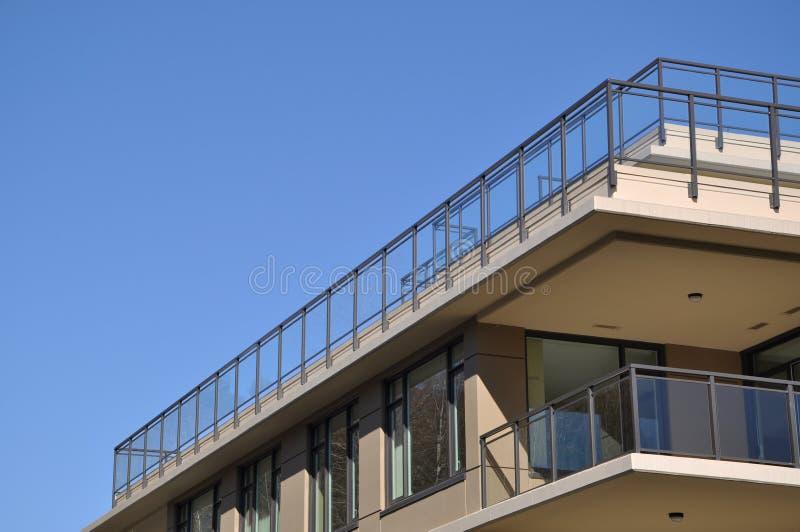 Eine Seite Gebäude lizenzfreie stockfotos