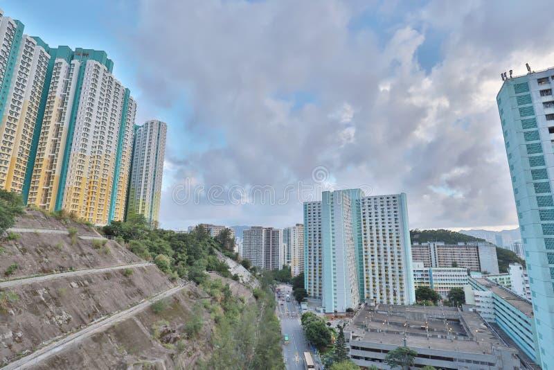 eine Shun Lee-Bezirk kwun Zange in Hong Kong stockfotografie