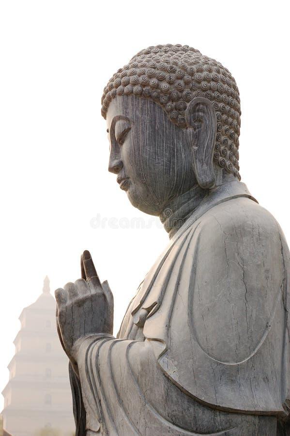 Eine Statue des Buddhas lizenzfreies stockfoto