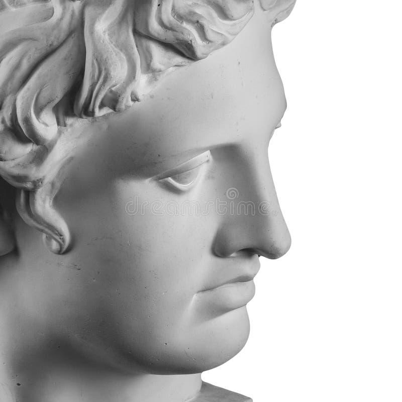 Eine Statue von Venus, Gips stockfoto