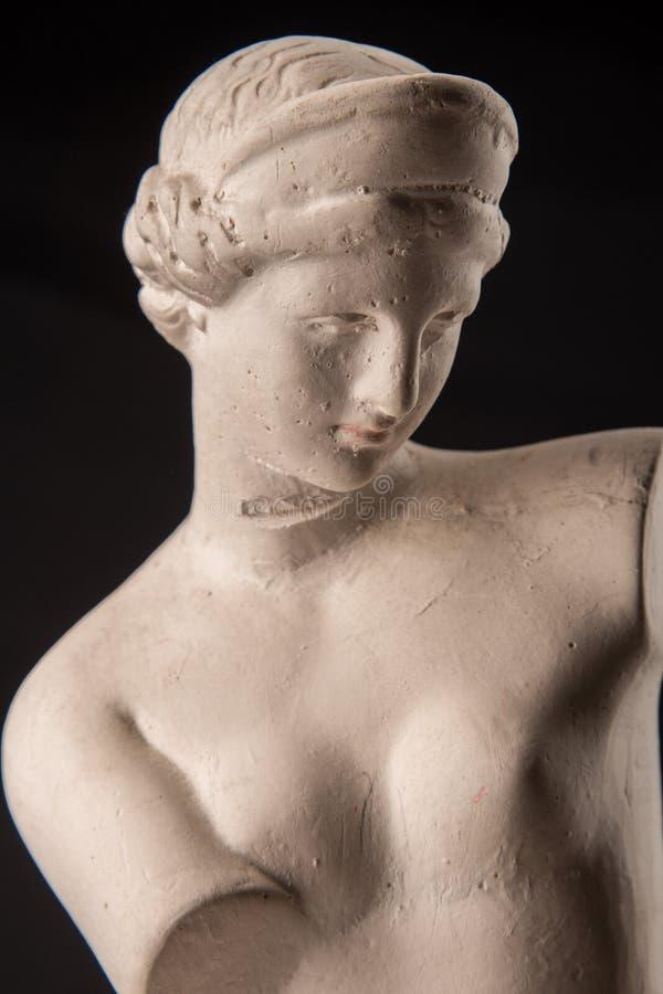 Eine Statue von Venus, Gips stockfotos