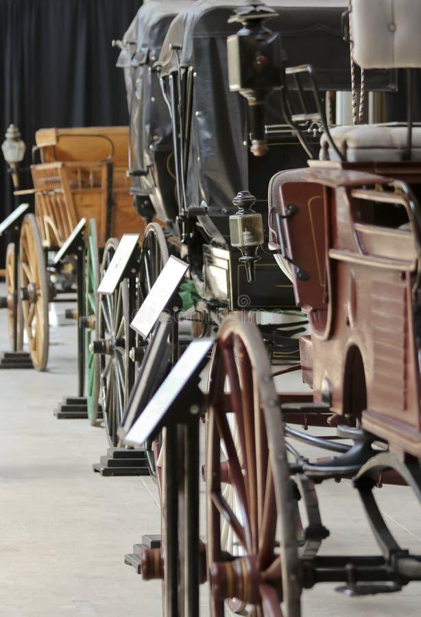 Eine Sterquell-Lastwagen-Sammlung bei Texas Cowboy Hall des Ruhmes lizenzfreie stockfotos
