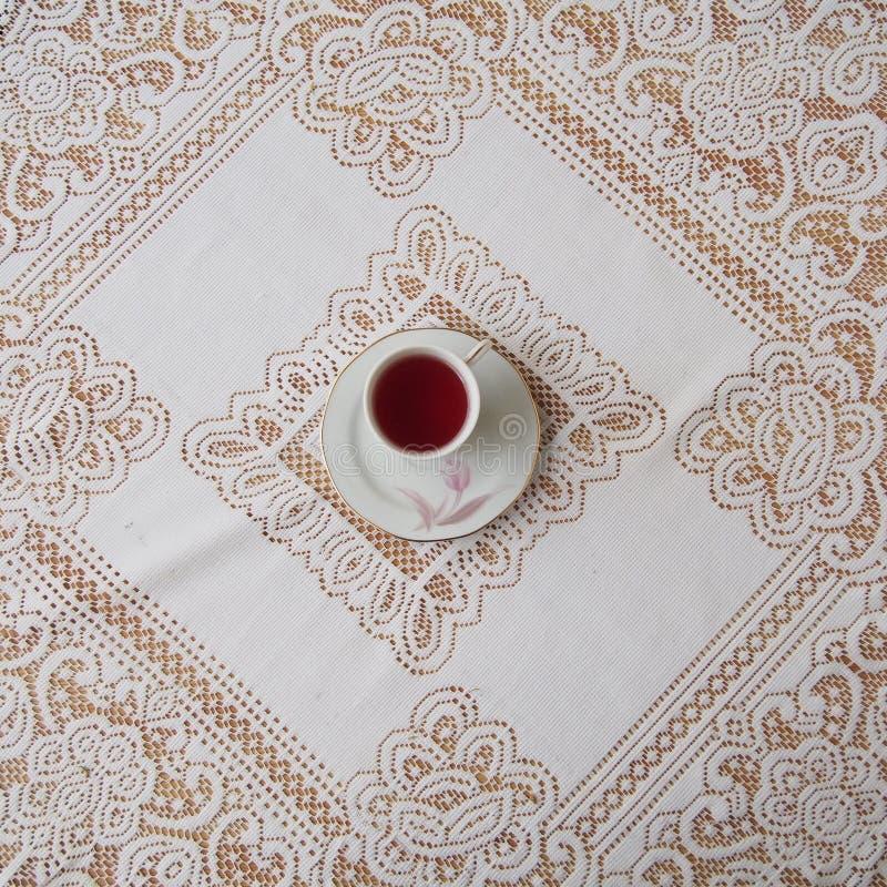 Eine Tasse Tee stockfotografie