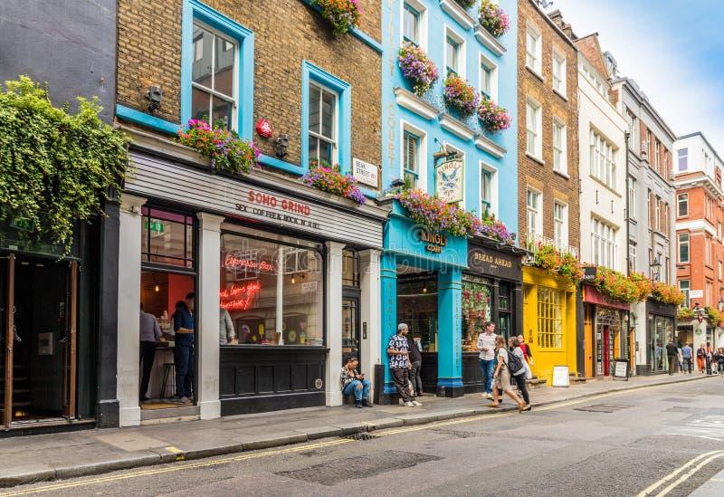 Eine typische Ansicht in London stockfoto