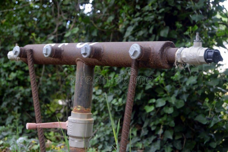 Eine Verbindung des Wassers lizenzfreie stockfotos