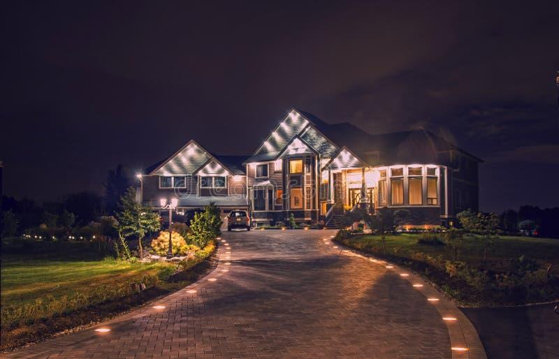 Eine Villa stockfotografie