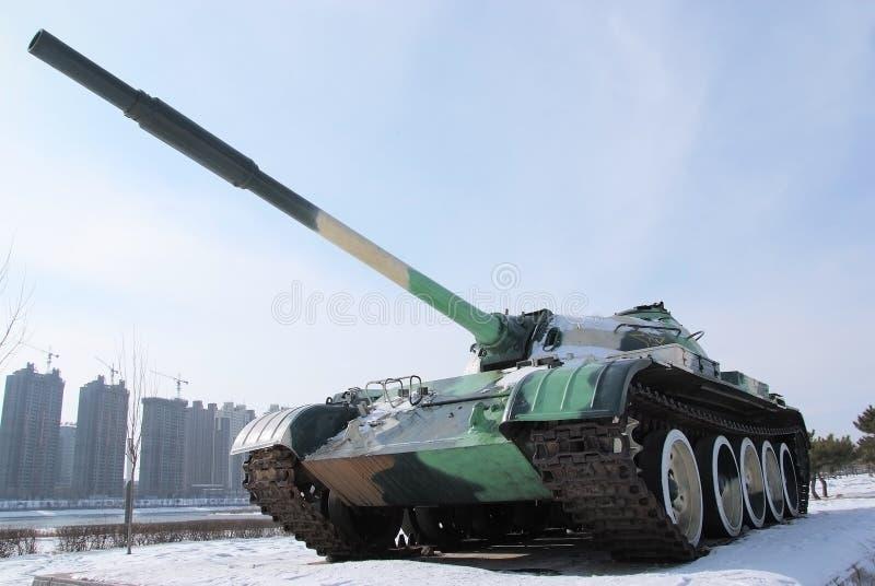 Eine Waffe Des Krieges: Becken Stockfoto