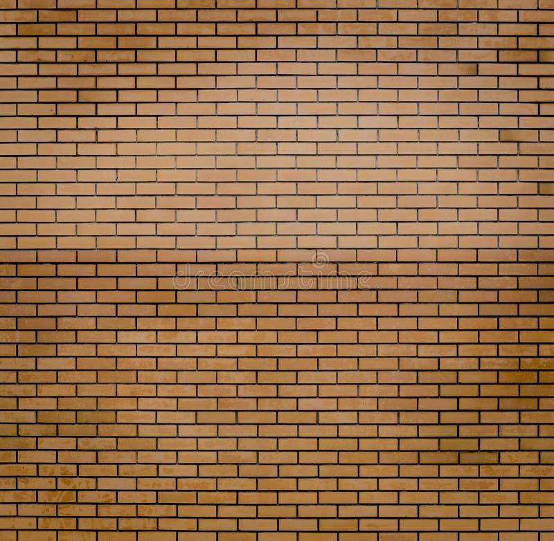 Eine Wand des roten Backsteins für Hintergründe oder Tapete stockfotografie