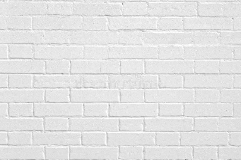 Eine Wand von Ziegelsteinmaurerarbeitweiß lizenzfreie stockbilder