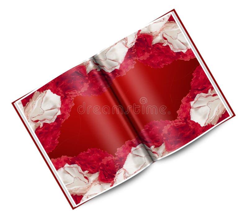 Eine Weihnachtskarte lizenzfreie abbildung