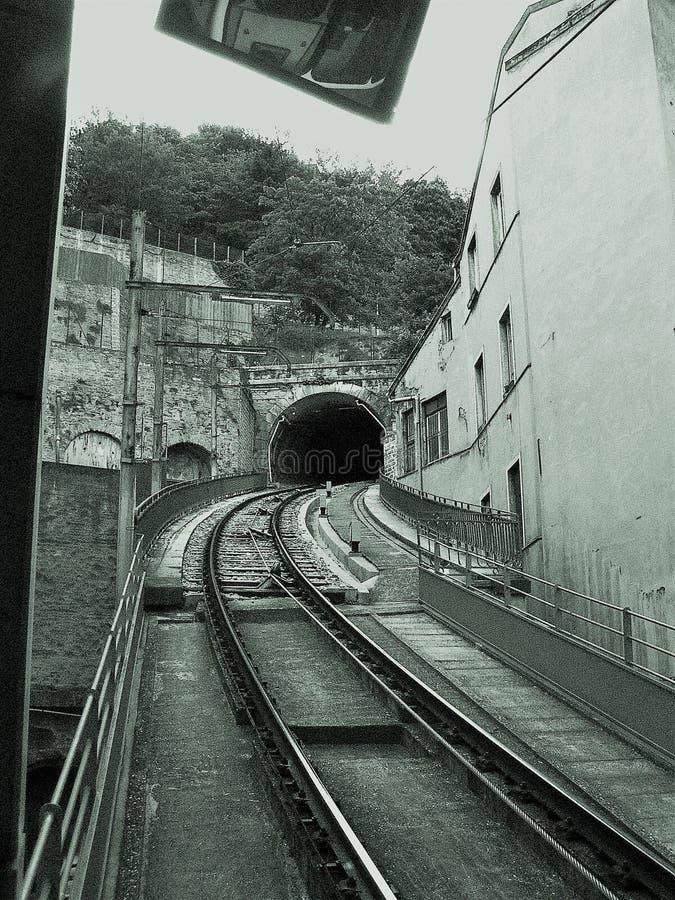 Eine Weisen-Bahn stockfotografie