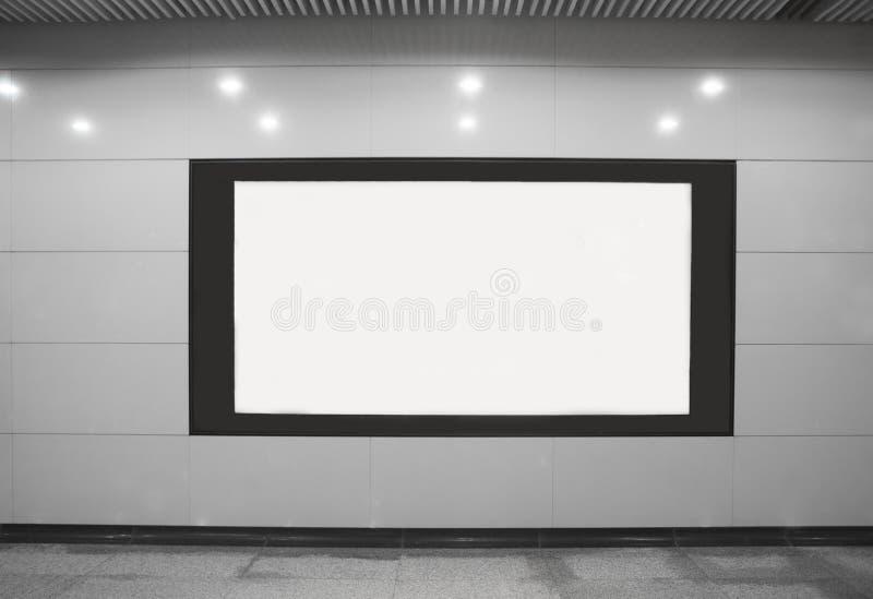Eine Werbung sreen lizenzfreies stockbild