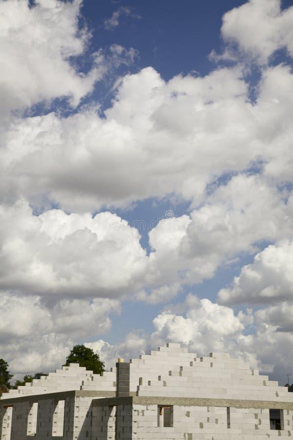 Eine Woge von Wolken stockfoto