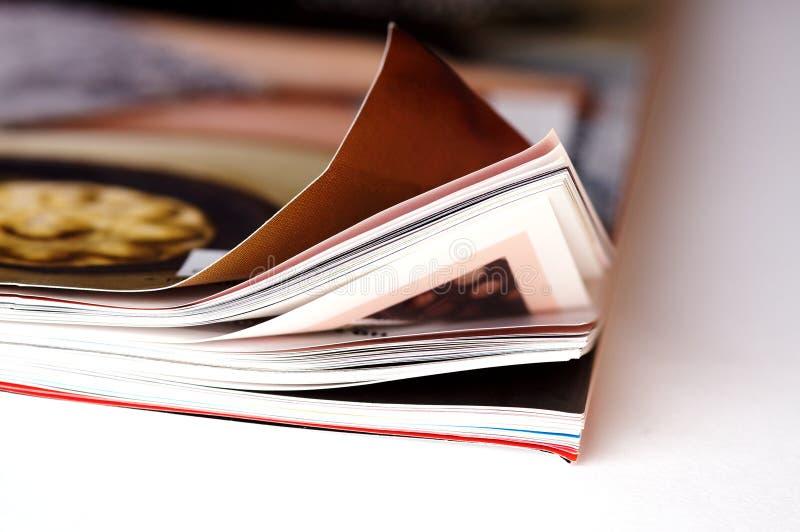 Eine Zeitschrift stockfotografie