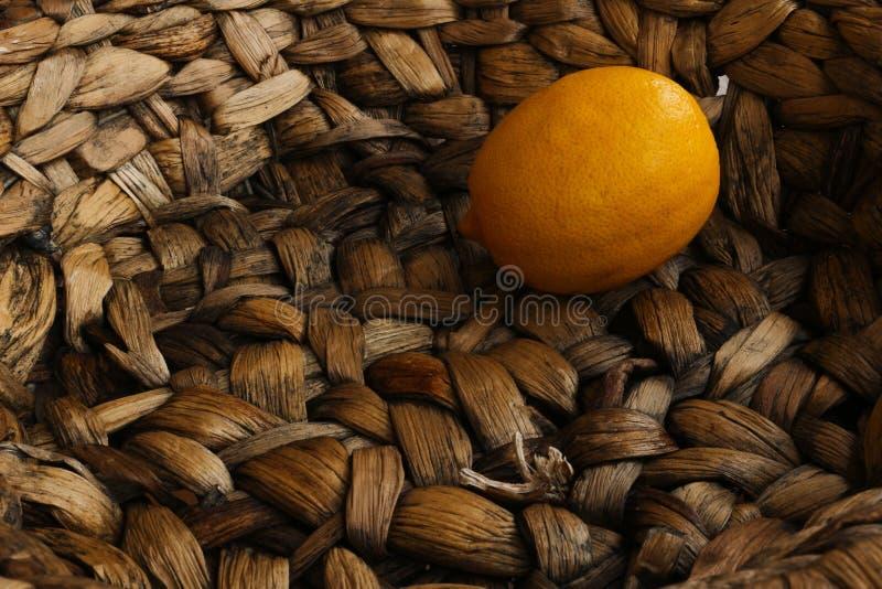 Eine Zitrone stockfoto