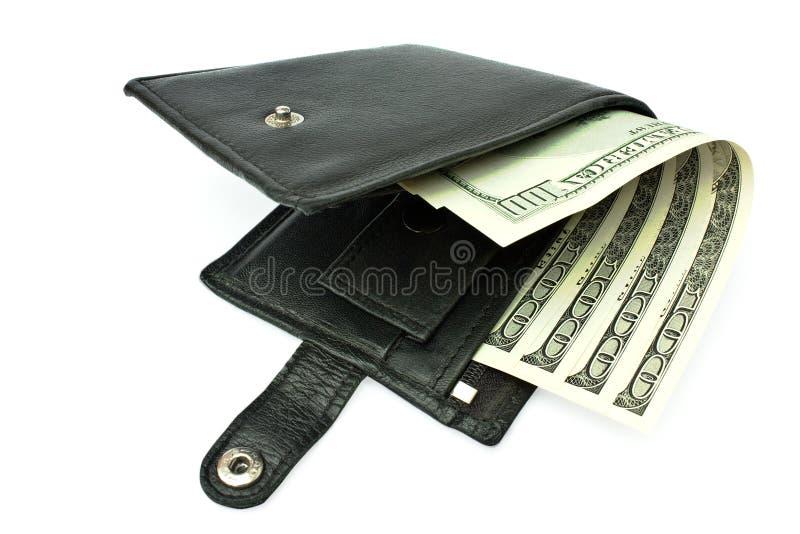 Einen Fonds mit einem Geld etwas öffnen lizenzfreies stockfoto