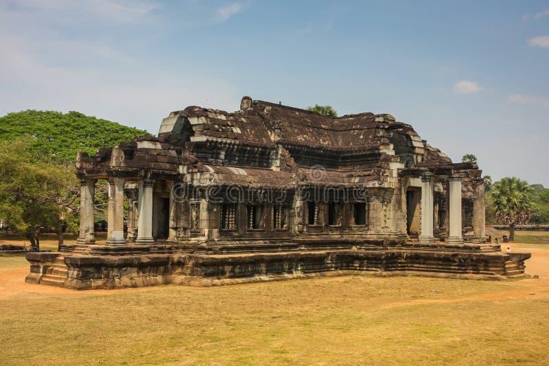 Einer der vielen Tempel Angkor Wat Komplexes lizenzfreies stockfoto