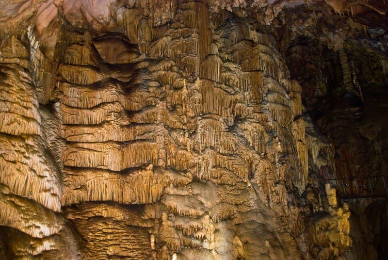 In einer Höhle stockfoto